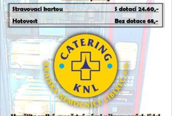 Novinka v areálu KNL – AUTOMAT NA CHLAZENOU STRAVU