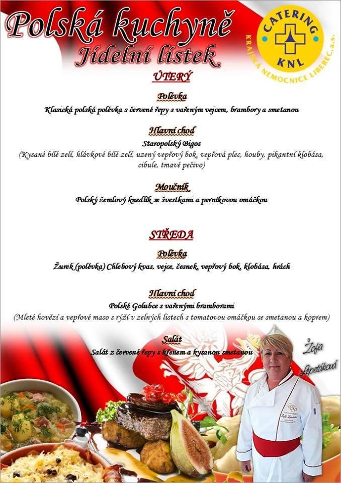 Představujeme menu polské kuchyně