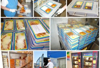 Chlazená strava od KNL Catering