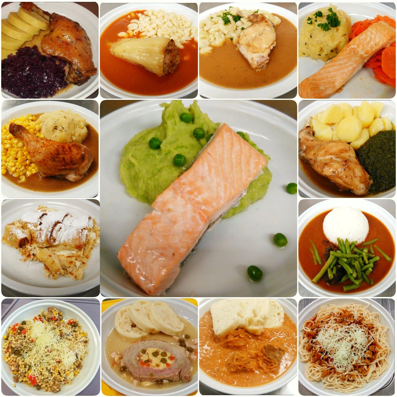 Nová jídla v jídelním plánu