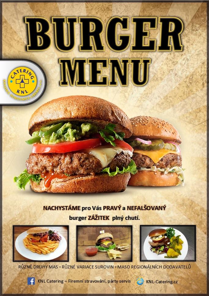 Burger akce