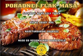Steakový týden v jídelnách KNL