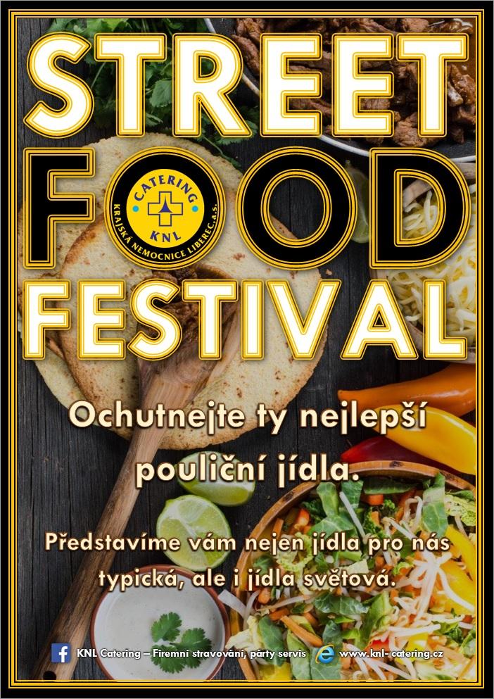 STREET FOOD v jídelně v areálu Krajské nemocnice Liberec