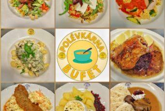 Víkendový výdej obědů v areálu KNL