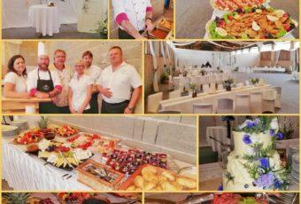Svatební catering 13.7.2019