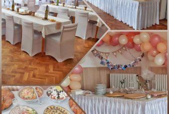 Svatební catering – servis – 13.8.2019
