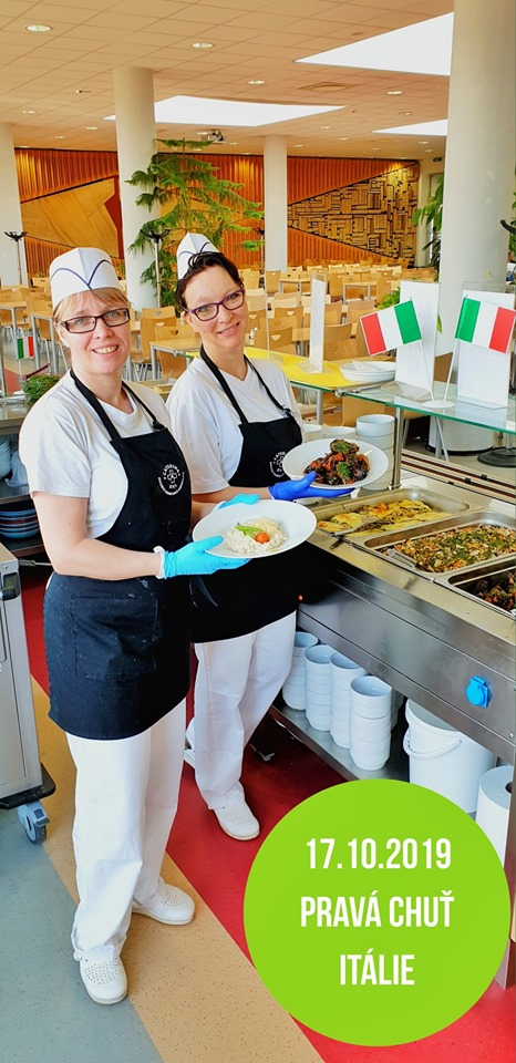 Pravá chuť Itálie – Jídelna KNL 17.10.2019