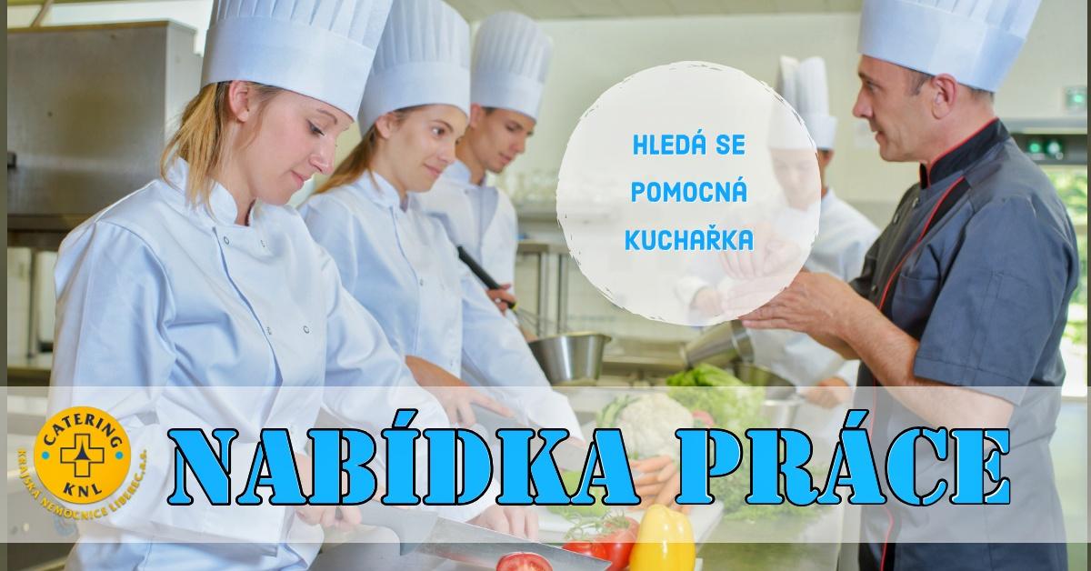 KNL Catering hledá pomocnou sílu do kuchyně