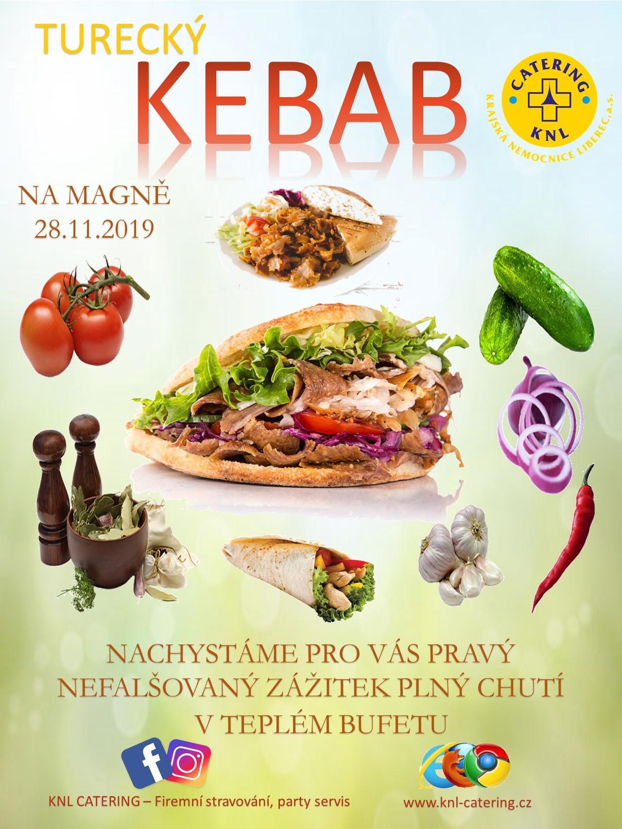 Street Food –  Turecký KEBAB