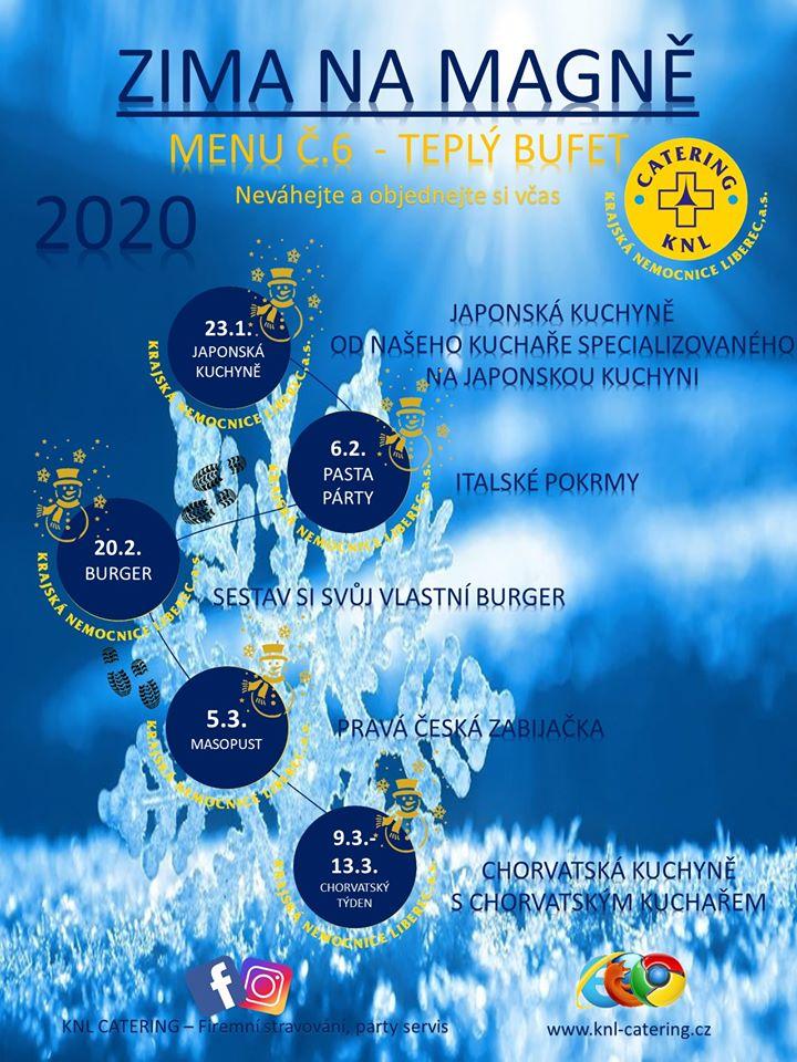 Plán akcí provoz: Magna Liberec