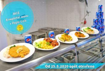 Pepsi zdarma k menu