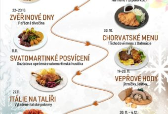 Plán podzim zima v centrální jídelně