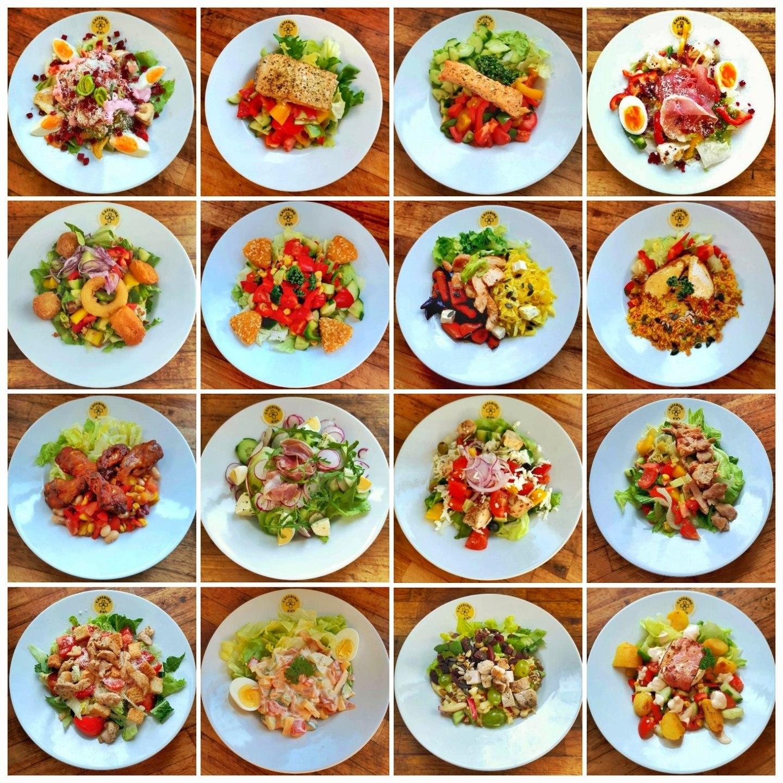 Menu 3 – Salátové menu